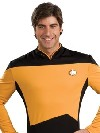 deguisement Or d'uniforme d'op�rations de Star Trek
