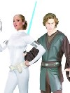 deguisement Couples de Star Wars