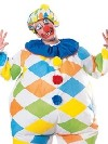deguisement Costume gonflable de clown