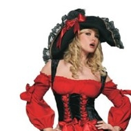 Jeune fille de pirate de Vixen Deguisement Pirates