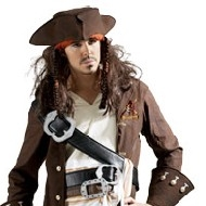 Capitaine Jack Sparrow Deguisement Disney