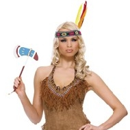 costume indien de la squaw 3pc Deguisement Amusant