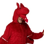 Costume de dragon Deguisement Animaux