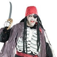 Costume de pirate de Ghostship Deguisement Pirates