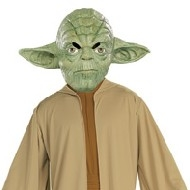 Costume adulte de Yoda Deguisement Super héros