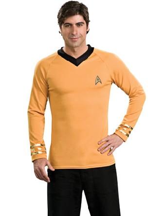 capitaine kirk shirt de star trek deguisement films. Black Bedroom Furniture Sets. Home Design Ideas