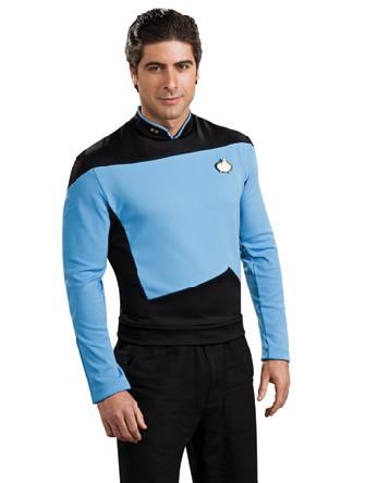 chemise de la science de star trek deguisement super h ros. Black Bedroom Furniture Sets. Home Design Ideas