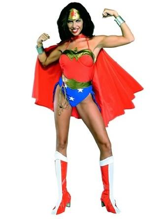 Costume de femme de merveille deguisement super h ros - Liste de super heros femme ...