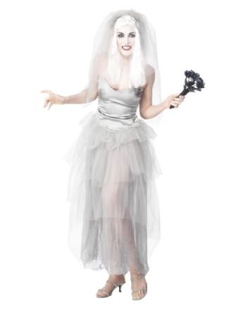 Mari e des morts deguisement halloween - Deguisement halloween mariee ...