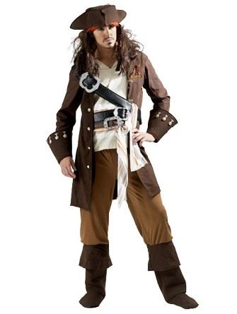 capitaine jack sparrow deguisement disney. Black Bedroom Furniture Sets. Home Design Ideas