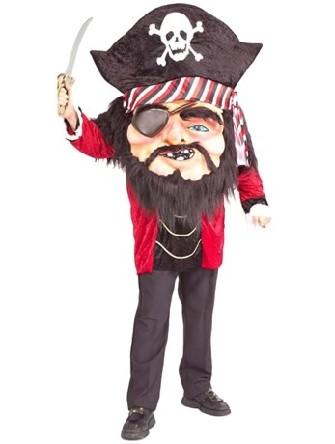 Grande t te de pirate deguisement super h ros - Deguisement tete de lego ...