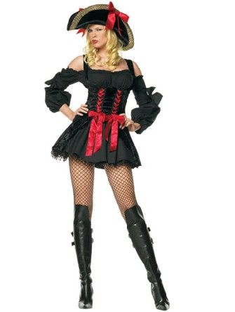 noir de costume de jeune fille de pirate deguisement cleopatre. Black Bedroom Furniture Sets. Home Design Ideas