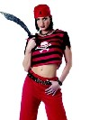 deguisement Costume punk de pirate de hanche