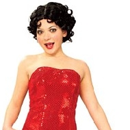 Costume de Betty Boop Deguisement Noel